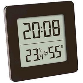Термогигрометр TFA 30.5038.01, цифровой, комнатный, 1хАА, чёрный