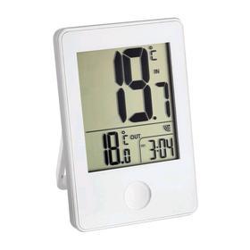 Термометр TFA 30.3051.02, цифровой, измерение внутри/снаружи помещения, 2хААА, белый