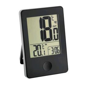 Термометр TFA 30.3051.01, цифровой, измерение внутри/снаружи помещения, 2хААА, чёрный