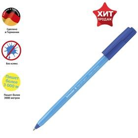 Ручка шариковая Schneider Tops 505 F узел 0,8мм, голубой корпус, синяя 150523