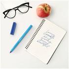 Ручка шариковая Schneider Tops 505 F узел 0,8мм, голубой корпус, синяя 150523 - Фото 3