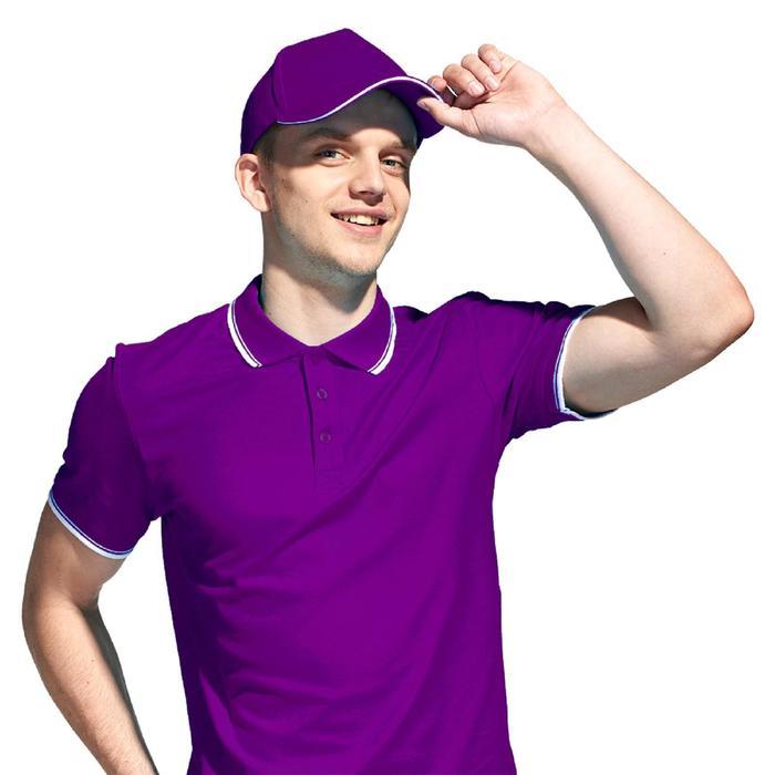 Бейсболка унисекс, размер 56-58, цвет фиолетовый