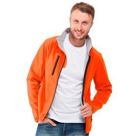 Куртка мужская, размер S, цвет оранжевый Ош