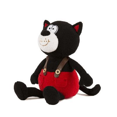 Мягкая игрушка озвученная «Котик Блэки», 20 см - Фото 1