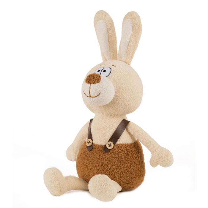 Мягкая игрушка озвученная Зайчик Лаки, 20 см
