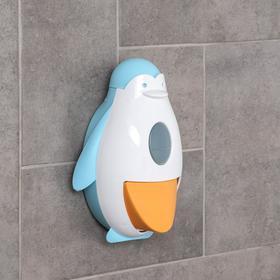 Дозатор для жидкого мыла «Пингви», цвет МИКС