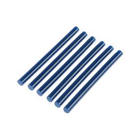 Клеевые стержни TUNDRA, 7 х 100 мм, синие, 6 шт.