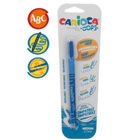 Ручка капилярная Carioca Oops, 0.7мм, синяя, блистер 43036/02