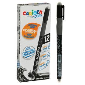 """Ручка """"пиши-стирай"""" капиллярная CARIOCA OOPS, 0.7мм, стержень/черный 43039/01"""