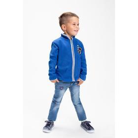Джинсы для мальчика, цвет синий, рост 104 см Ош