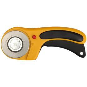 Нож OLFA OL-RTY-3/DX, с круговым лезвием и пистолетной рукояткой, 60 мм