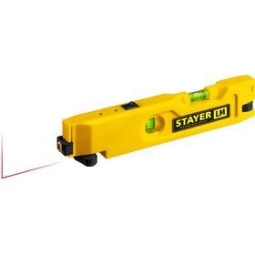 Уровень лазерный STAYER 34985, 20м, точность лазера +/-0,5 мм/м, точность колбы +/-1,5 мм/м   526755