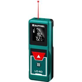 Дальномер лазерный KRAFTOOL 34763, дальность 5см - 40м, точность 1,5 мм