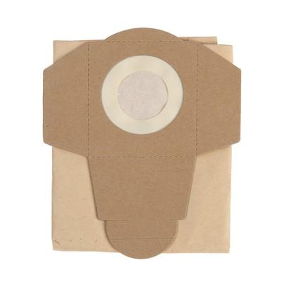 Мешок пылесборный кн1300бпм, бумажный, 5 шт., V 15 л, 19х12 см, для пылесоса KVC1300 - Фото 1