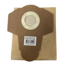 Мешок пылесборный кн1700с-1800бпм, бумажный, 5 шт., V 25 л, 47х30 см, для KVC1700S/KVC1800DS   52828