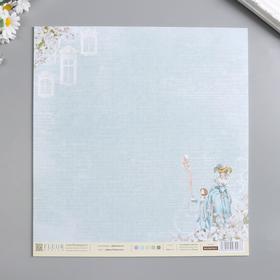 """Лист бумаги для скрапбукинга """"Джек Робинсон"""" 30х30 см, 190 гр/м2"""