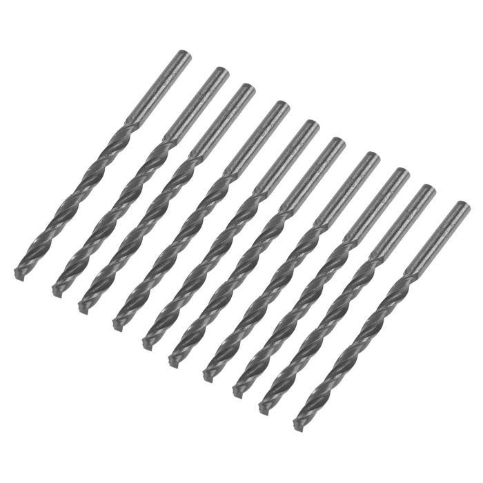Сверло по металлу, d4 мм, цилиндрический хвостовик, ГОСТ 10902