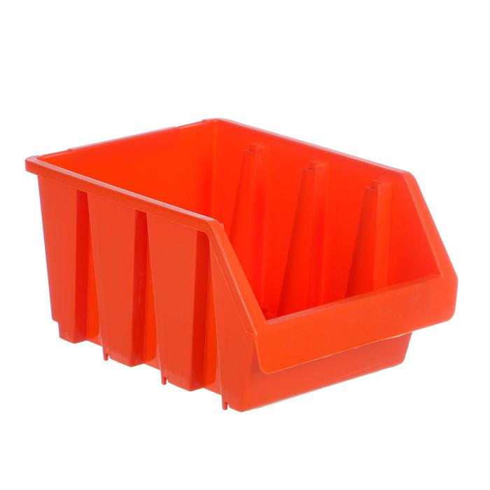 Лоток для метизов 3, 230х170х125 мм, оранжевый