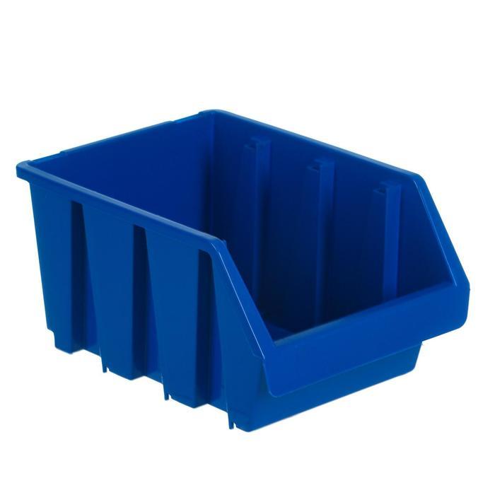 Лоток для метизов 3, 230х170х125 мм, синий