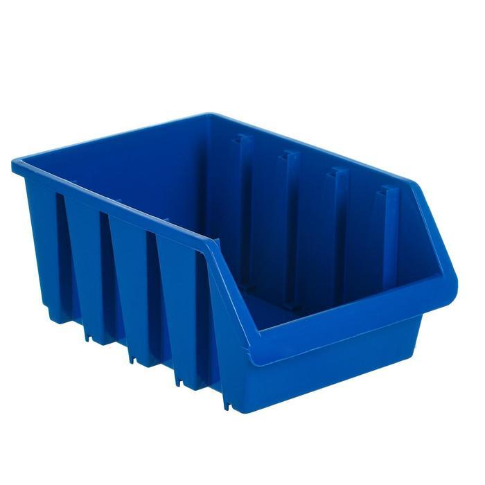 Лоток для метизов 4, 350х235х155 мм, синий