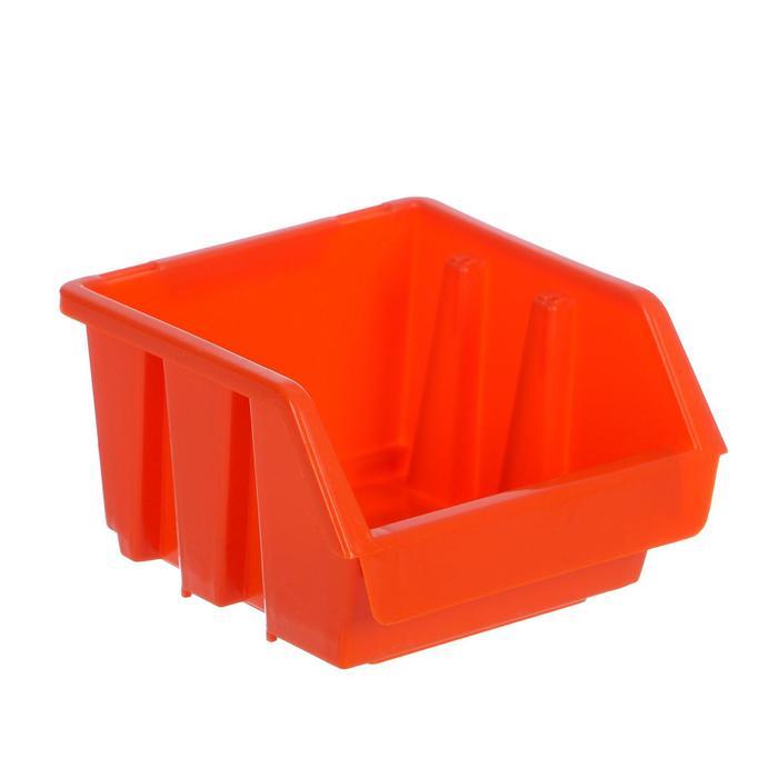Лоток для метизов 1, 115х115х75 мм, оранжевый