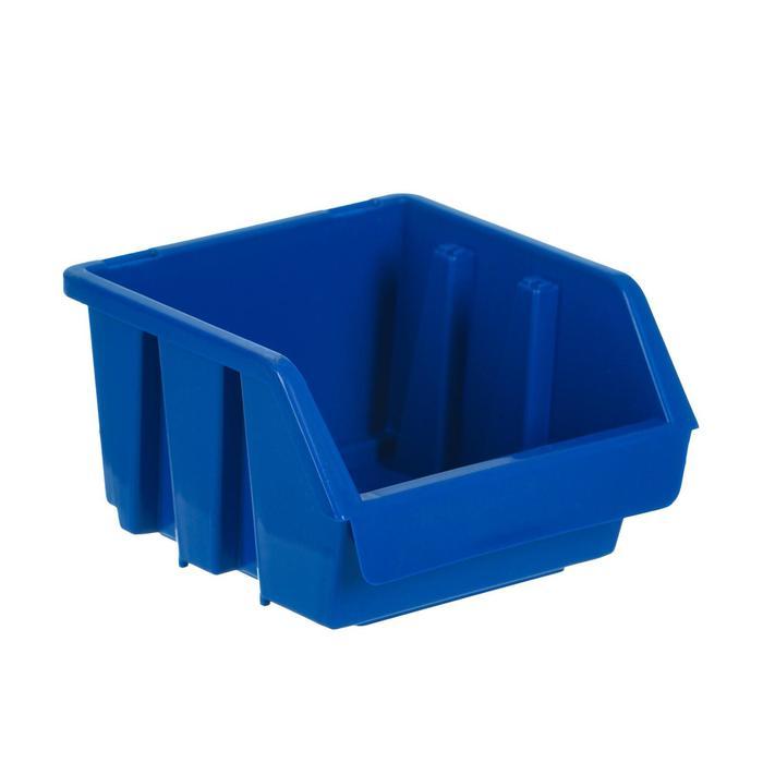 Лоток для метизов 1, 115х115х75 мм, синий