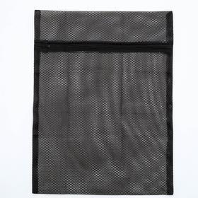 Мешок для стирки белья, черный 40*50 см Ош