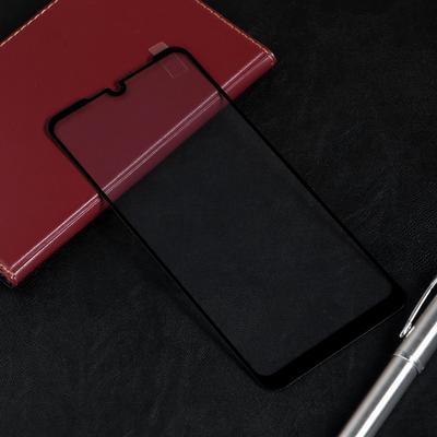 Защитное стекло Red Line для Huawei Y7 2019, Full screen, полный клей, черное