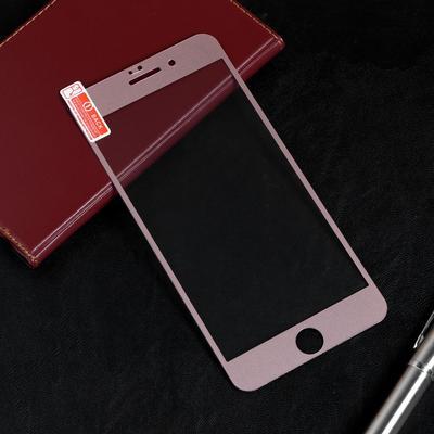 Защитное стекло Red Line для iPhone 7 Plus, Full Screen, матовое, полный клей, розовое