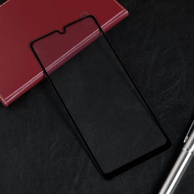 Защитное стекло Red Line для Samsung Galaxy A31, Full Screen, полный клей, черное
