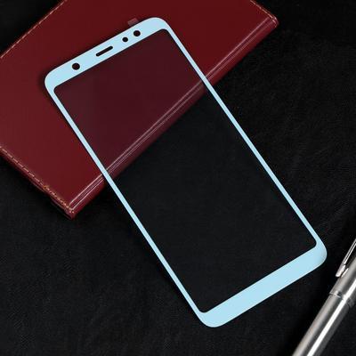 Защитное стекло Red Line для Samsung Galaxy A6 Plus (2018), Full Screen, полный клей, синее