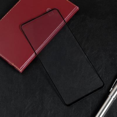 Защитное стекло Red Line для Samsung Galaxy A71, Full Screen, полный клей, черное