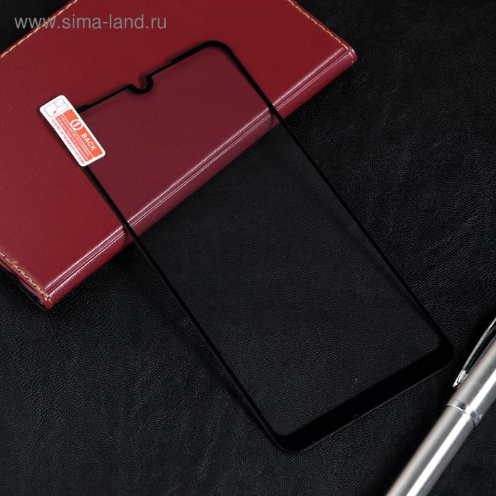 Защитное стекло Red Line для Xiaomi Redmi Note 7, Full Screen, полный клей, черное