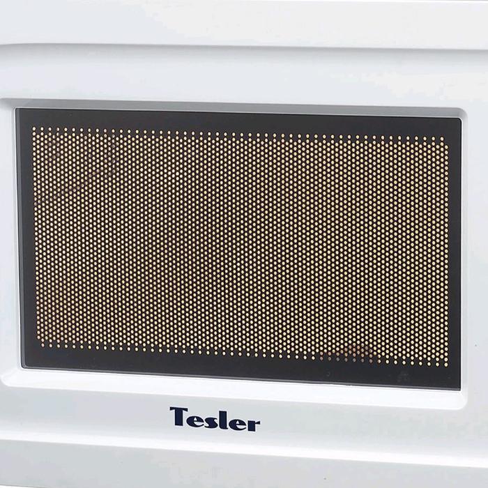Микроволновая печь Tesler MM-2020, 700 Вт, 20 л, 5 программ, таймер, белая