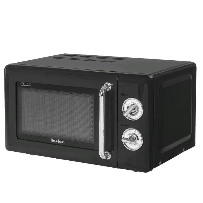 Микроволновая печь Tesler MM-2045 BLACK, 700 Вт, 20 л, 6 программ, таймер, черная