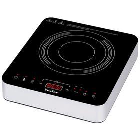 Плитка Tesler PI-15, индукционная, 2000 Вт, 1 конфорка, 60-240 °С, 10 режимов, чёрная