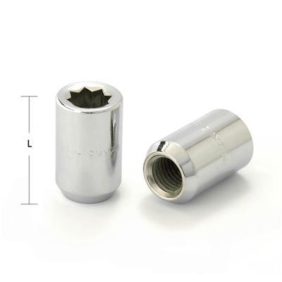 Гайка M12x1,5, 31, спец., конус, хром - Фото 1