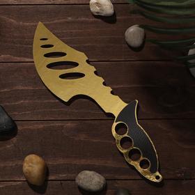 Сувенир деревянный «Топор», жёлтое лезвие Ош