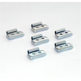Грузики набивные стальные, для штамп. дисков, 15г, 100 шт Ош