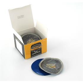 Латки для ремонта камер овальные, 40x65 мм, для холодной вулканизации, 30 шт, HOPSON TP-V40   529766 Ош
