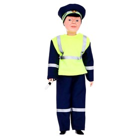 Кукла «Борис - инспектор ДПС», 30 см, МИКС