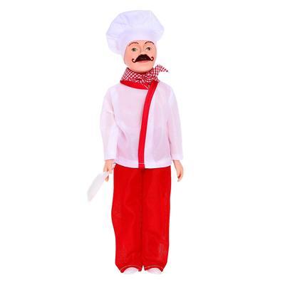 Кукла «Борис-повар», 30 см, МИКС