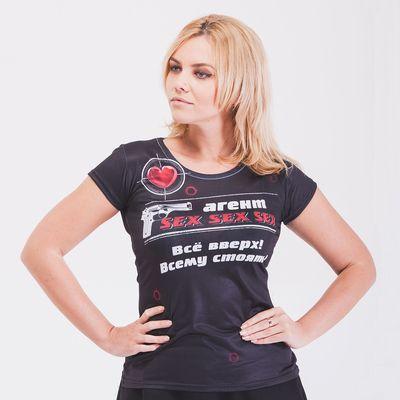 "Футболка женская ""Агент Sex"", размер S"