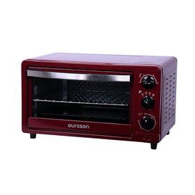 Мини-духовка Oursson MO1402/DC, 1200 Вт, 14 л, 3 режима, 100-250°С, бордовая Ош
