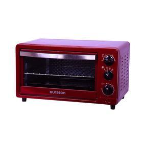 Мини-печь Oursson MO1402/RD, 1200 Вт, 14 л, 3 режима, 100-250°С, красная