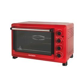 Мини-печь Oursson MO4225/RD, 2000 Вт, 42 л, 12 режима, 100-230°С, конвекция, красная