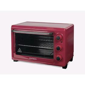 Мини-печь Oursson MO2610/DC, 1500 Вт, 26 л, 4 режима, 100-230°С, бордовая