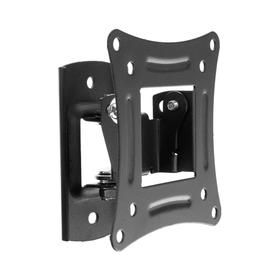 Кронштейн Rexant 38-0050, для ТВ, наклонно-поворотный, 10-27', 75 мм от стены, чёрный Ош