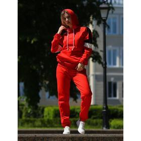 Брюки женские, цвет красный, размер 44