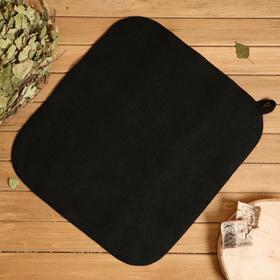 Коврик банный 50*40 см, черный Ош